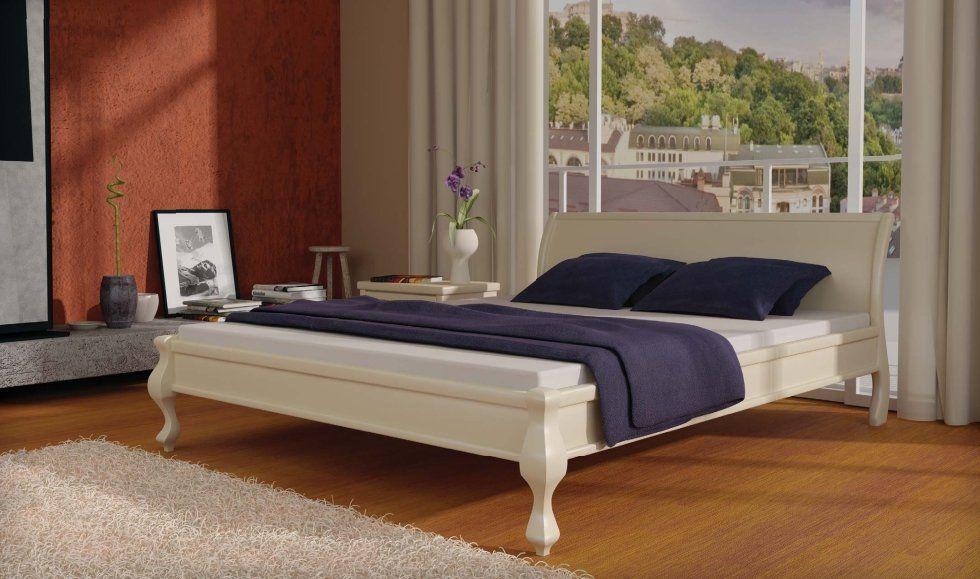 Деревянная кровать Палермо MebiGrand 90х200