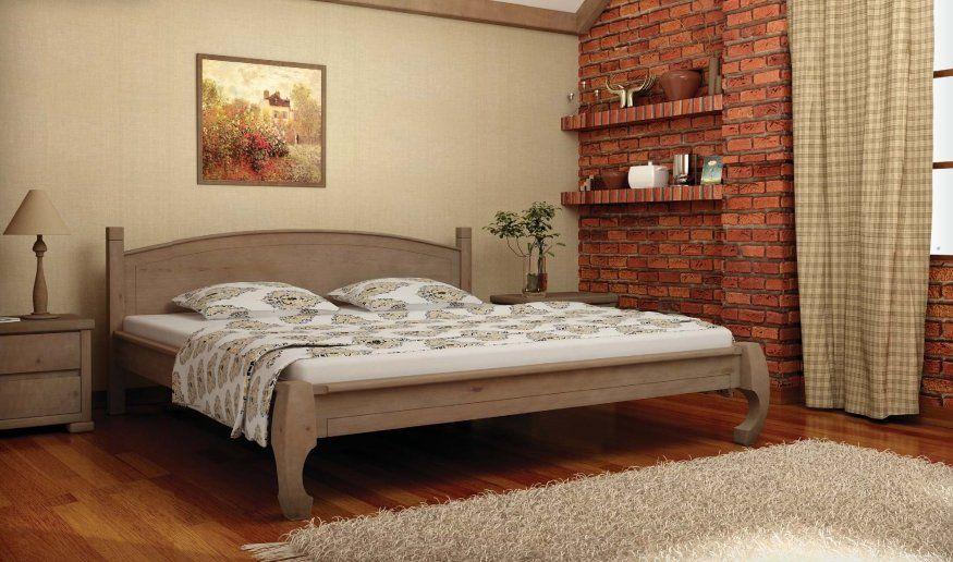 Деревянная кровать Манхеттен MebiGrand